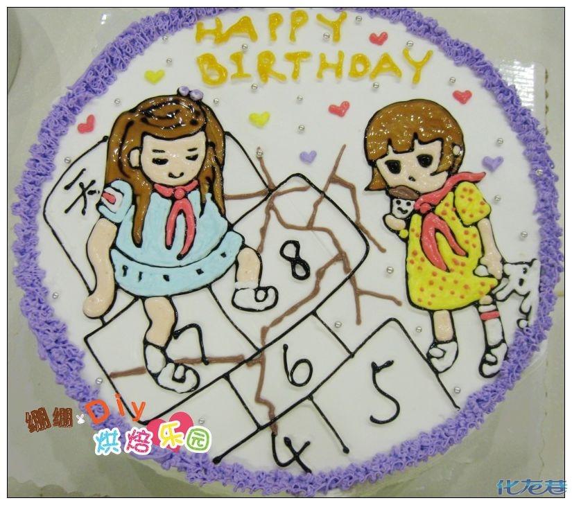 幼儿园小班绘画作品棒棒糖
