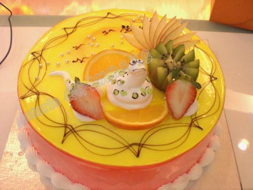 欧式蛋糕2016款 创意蛇