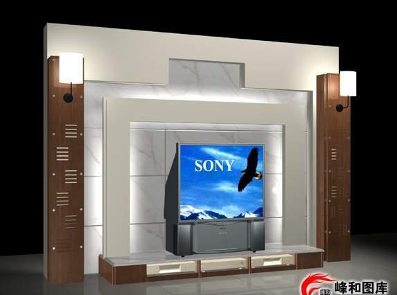 电视墙贴图,电视墙背景效果图,电视墙壁纸