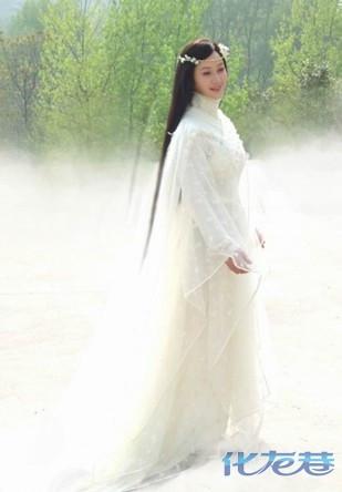古装 白衣美女 最美?