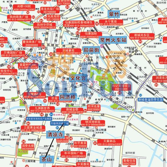 地铁一号线所有站点和地铁房曝光!有图