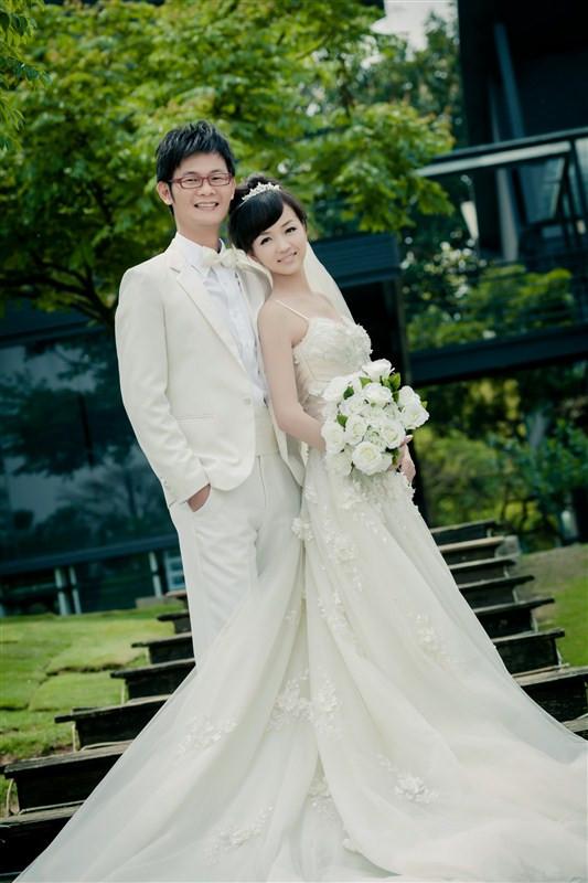 台湾婚纱照_台湾美女
