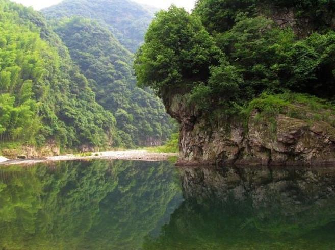 浙江的大明山