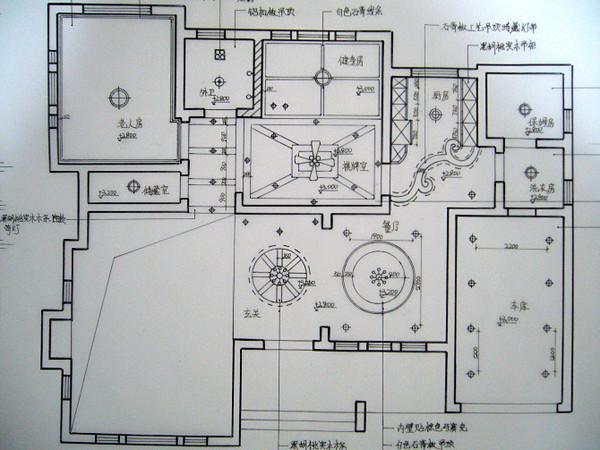 纯手绘别墅设计:美式美家