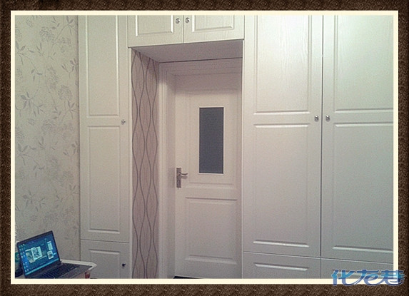 置顶式双开门衣柜
