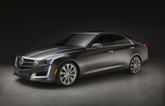 新款凯迪拉克cts纽约车展首发 计划秋季投产