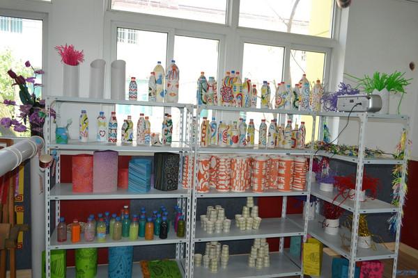 学校特色教室 创意美术工作室 化龙巷走进幼儿园系列报道