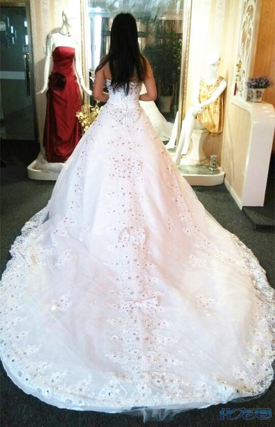 最美婚纱背影大比拼,工作背影算什么,我们是婚纱 礼服背影,美得无