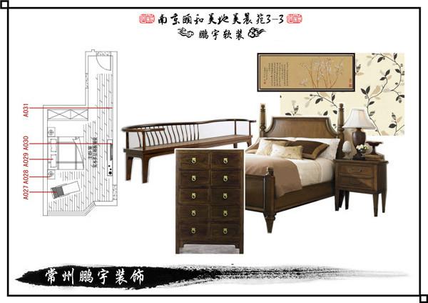 家具平面素材床