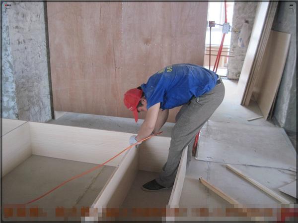 顶棚工程(石膏吊顶)、木质隔墙工程(轻钢龙骨隔墙)、定制家具