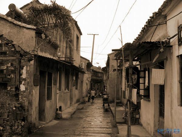 壁纸 风景 古镇 建筑 街道 旅游 摄影 小巷 600_450