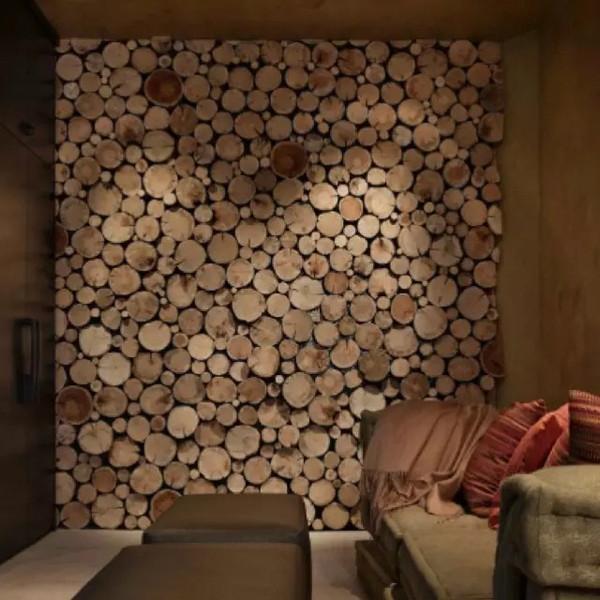 留一面墙给木头 原生态木头家装翻新生活-装修课堂